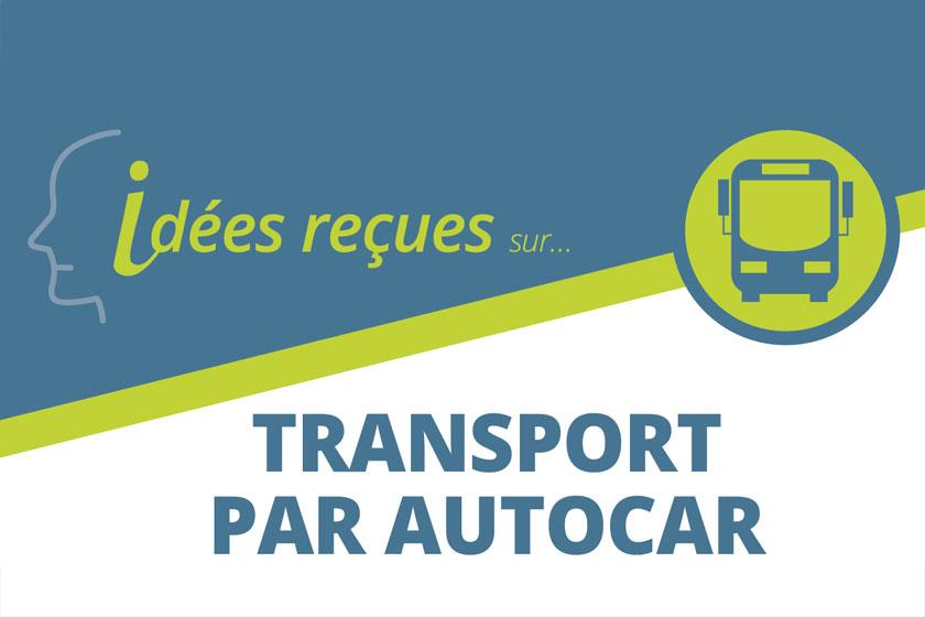 Idées reçues sur le transport par autocar
